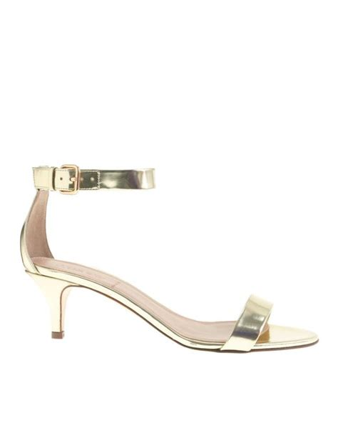 j crew gold sandals j crew mirror metallic kitten heel sandals in gold