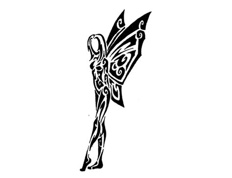 tribal angel tattoo angel tattoo tribal clipart best