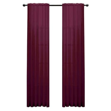 plum and gold curtains window elements diamond sheer plum rod pocket extra wide