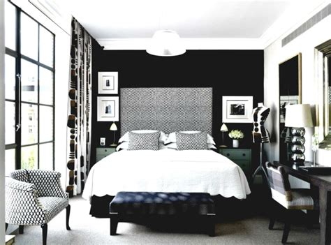 Schwarze Wand Schlafzimmer by Schlafzimmer Schwarz 31 Beispiele Dass Schwarze