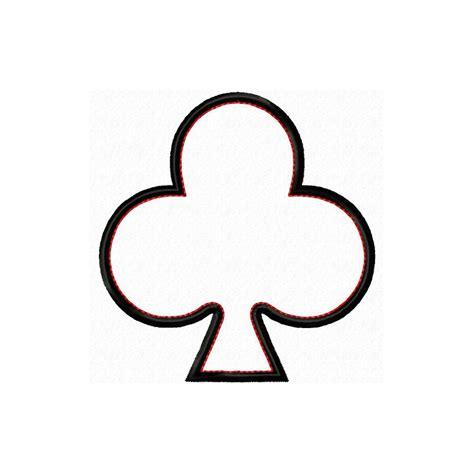 Card Club Template by Card Symbols