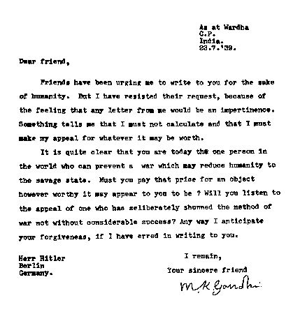 Support Letter For A Sick Friend Histoires De Voir Inde 6 Gandhi Et La Politique Indienne