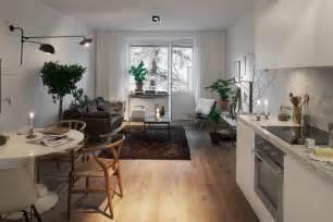 Apartment Ideas Stockholm Cool scandinavian design cozy one bedroom apartment in