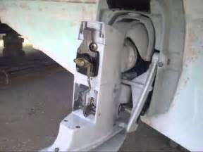 How To Remove A Volvo Penta Outdrive Aq 290 Dp