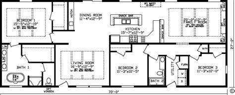 fairmont homes floor plans home manchester 92593k kingsley modular floor plan
