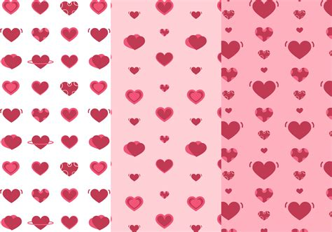 pattern heart vector free hearts pattern vector download free vector art