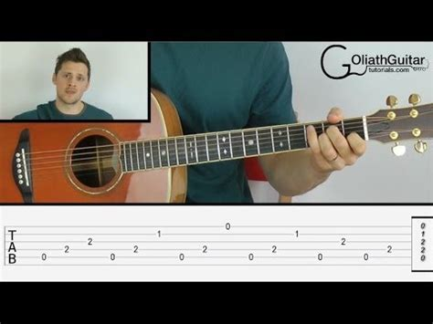Guitar Tutorial Fingerstyle Easy | how to read guitar tabs easy fingerpicking fingerstyle