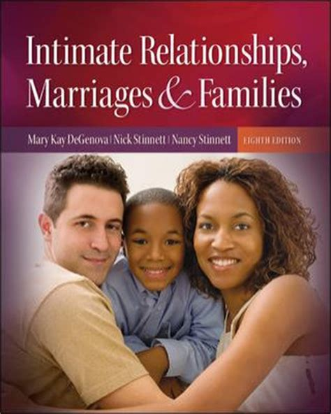 looseleaf for intimate relationships books intimate relationships marriages and families