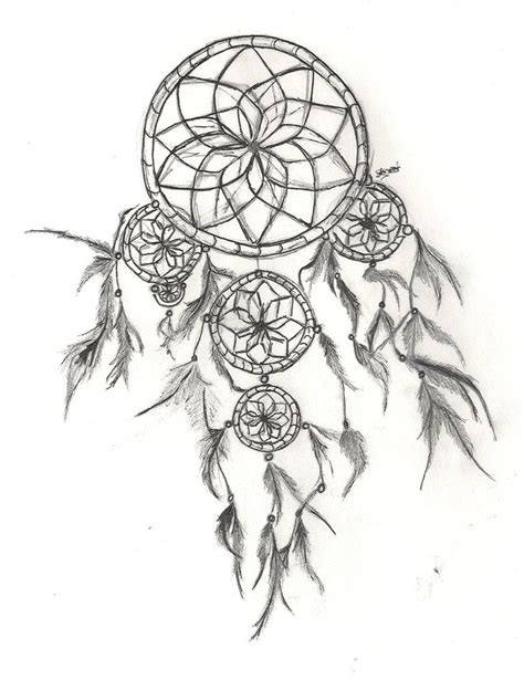 dreamcatcher tattoo drawing dream catcher drawings quotes canvas quotesgram