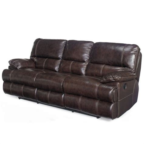 seven seas sofa hooker furniture seven seas leather reclining sofa in