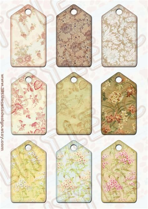 printable hang tags instant download printable digital vintage hang tags