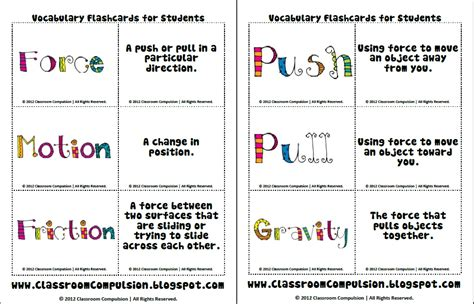 Forces And Motions Worksheets by Classroom Compulsion A Colorful Day