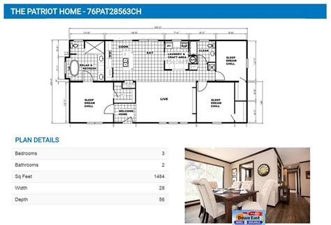 patriot homes floor plans the patriot home down east realty custom homes