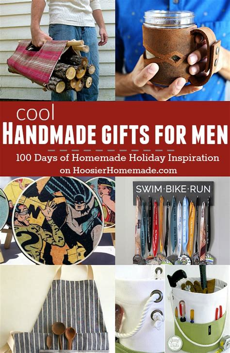 super cool handmade gifts for men holiday inspiration