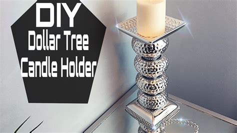 Candle Holder Store Diy Dollar Tree Mirrored Candle Holder