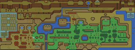 legend of zelda map labeled the original legend of zelda map rebrn com