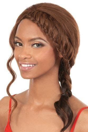 how to do motown hairstyles motown tress french braid lace wig lfe berta 1b by