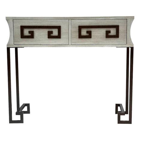 Quade Console Table Wood Quade Console Table In Brown