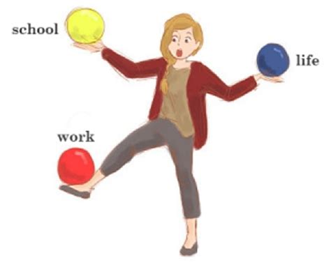 how do balancing work 6 tips for balancing work and school
