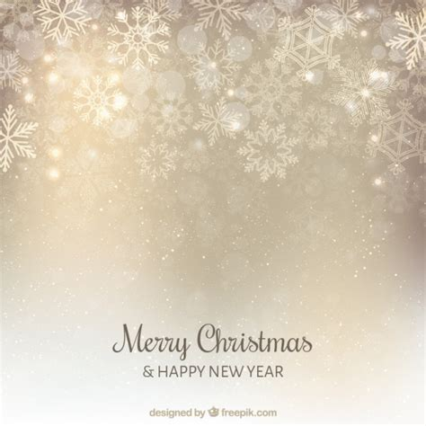 christmas silver snowflakes background vector free download