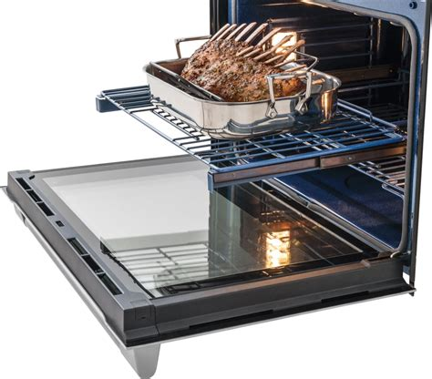 Cleaning Stainless Steel Oven Racks by Electrolux E30ew75pps 30 Inch Single Electric Wall Oven