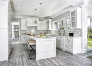 grey kitchen floor ideas gray toned wood floors design ideas