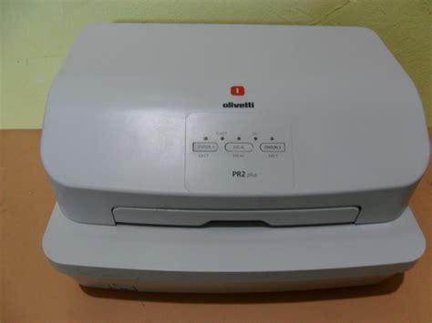 Printer Passbook printer passbook olivetti pr2plus service printronix