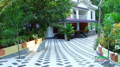 kerala home design kottayam interlock paving blocks in kottayam kerala palathra