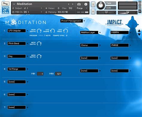 full version of kontakt 5 is found on this computer meditation hybrid mallet design vst au aax kontakt