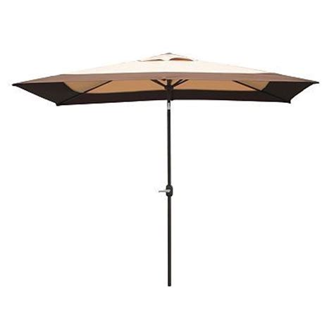 rectangular patio umbrella kohls and outdoors on