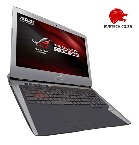 Laptop Asus Rog I7 Buy Asus Rog G752vl 17 3 Quot I7 Gaming Laptop At Evetech Co Za