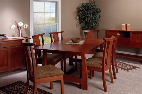 watkins glen craftsman dining set countryside amish
