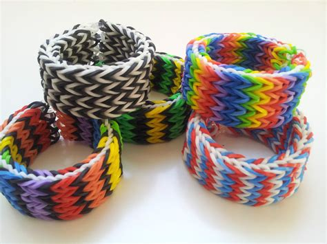 hir band loom band rainbow loom rubber band bracelet quadruple fishtail