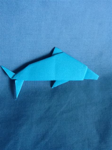 How To Make Paper Dolphin - origami dolphin by nightrideralice on deviantart