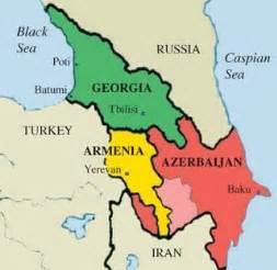 map of armenia and azerbaijan azerbaijan