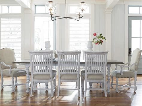 paula deen dining room set paula deen home dogwood blossom with driftwood top dining