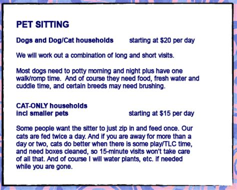house sitting rates house sitting rates with dogs 28 images rates and services k9 second line your