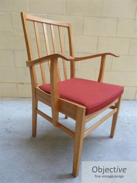 Freds Furniture by Fred Ward Arm Chair Ex Anu Objective Vintage Design