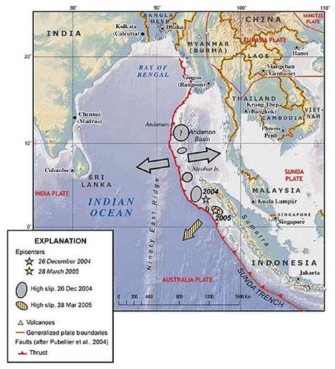 earthquake indian ocean andaman sea seen off the coast of india