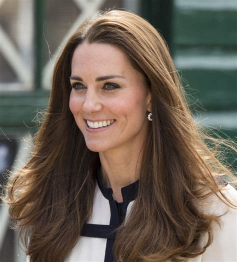 kate middleton a close up of kate middleton s hair reveals no split ends