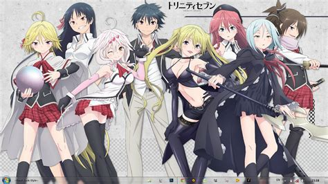 Wallpaper Anime Trinity Seven | trinity seven wallpaper wallpapersafari