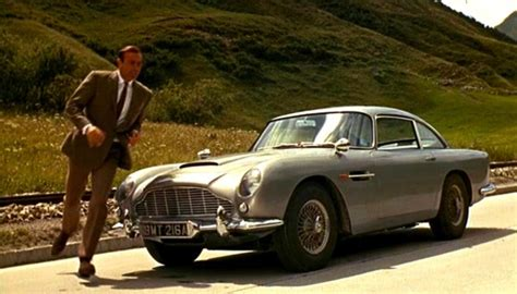 goldfinger  aston martin db   cars