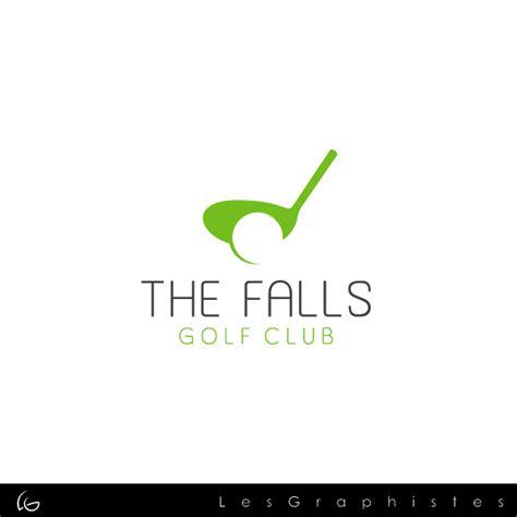 design a club logo the falls golf club logo design hiretheworld