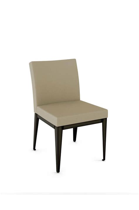 Amisco Dining Chairs Amisco Pablo Modern Armless Dining Chair Upholstered Ships Free