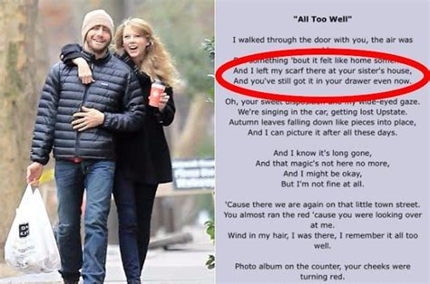taylor swift and jake gyllenhaal scarf taylor swift s quot all too well quot scarf really could be at