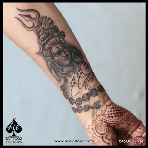 shivji tattoo designs lord shiva tattoos ace tattooz studio mumbai india