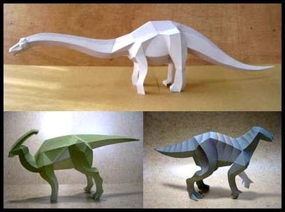 Papercraft Dinosaur - dinosaur papercrafts for paperkraft net free