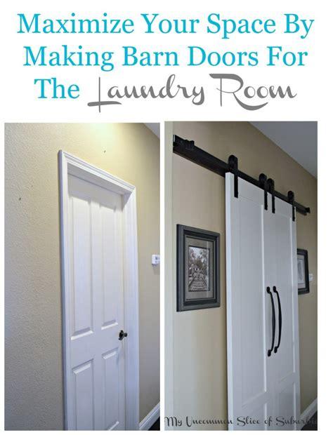 Do I Need A Door by Barn Doors For The Laundry Room
