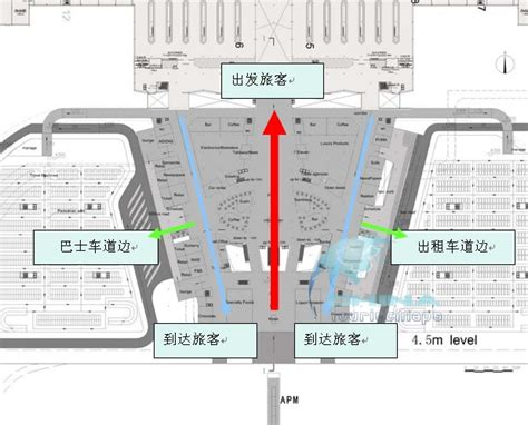 layout map  shenzhen baoan international airport