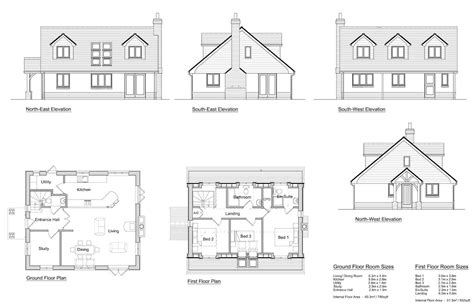 Bungalow House Plan by Lansdowne 3 Bedroom Chalet Design Solo Timber Frame